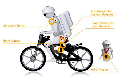 The Bicycle Riding Robot