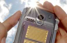Solar Powered Cellphone