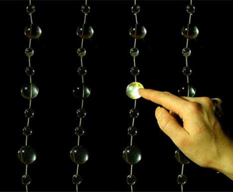 Light Bead Musical Curtain