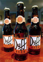 Homer Simpson's Duff Beer Becomes a Reality