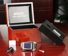 World's 1st Phone Watch - M500 Mobile Phone Watch