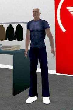 Digital Designers In Second Life - Georgio Armani's Avatar