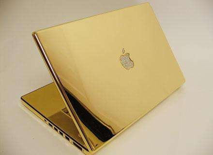Apple Mines Diamonds & Gold - Luxury Mac Book Pro