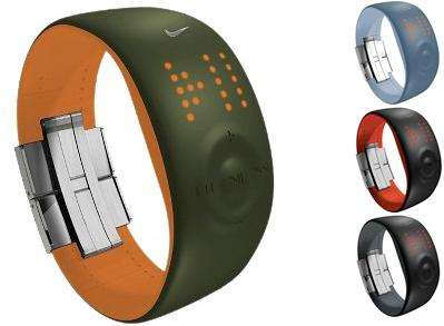 Wireless Timepiece For Athletes - Nike+ Amp Watch Monitors Runs