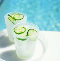 Cucumber Water - For Beauty, Health and Flavour