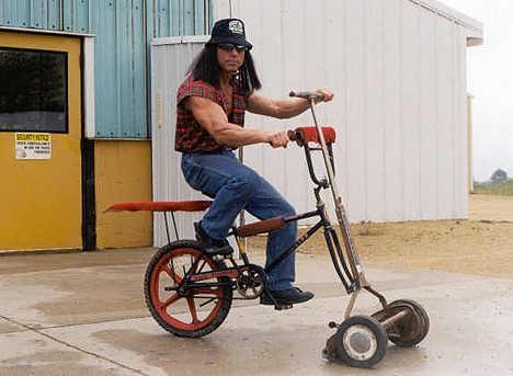 Eco Lawn Mower Bike