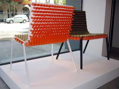Shotgun Shell Chair