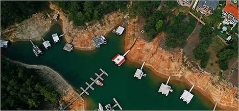Lake Lanier Disappearing
