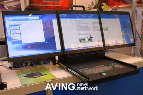 3 Screen Desktop - Folding ACME Prototype