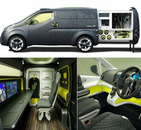Nissan's Mobile Office - NV200 Concept