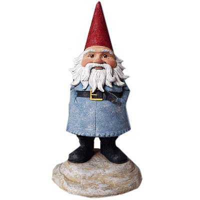 Captured Corporate Mascots - Travelocity Roaming Gnome Stolen