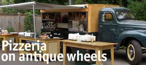 Pizzeria on Antique Wheels