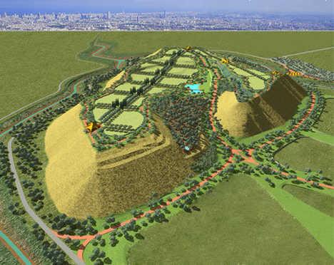 Garbage Dump Turned Eco-Theme Park