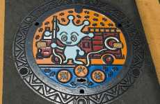 Manhole Covers as Art