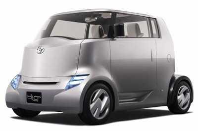Toyota Unveil Latest Concept Car
