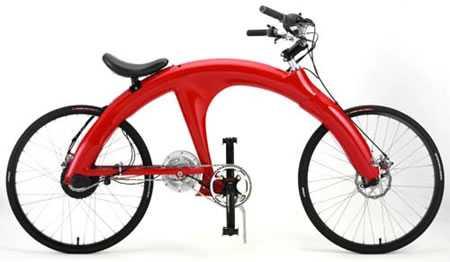 Human-Electric Hybrid Bike