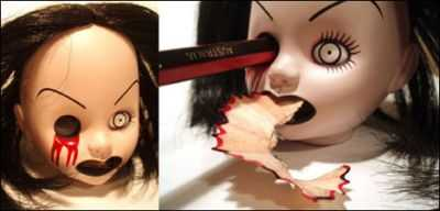 """The """"It's Only Fun When Someone Loses an Eye"""" Pencil Sharpener (Halloween Special)"""