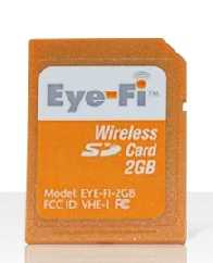 Wireless Memory Photo Card