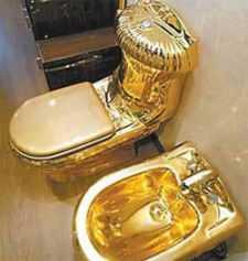 1/2 Million Dollar Toilet
