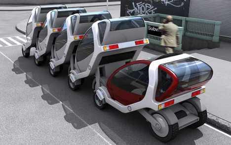 Stackable, Public Rental EV- MIT City Cars Go Last Mile