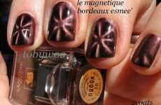 Nail Polish With Magnetic Particles