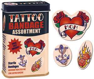 Tattoo Bandages - Look Tough When You Cover Your Boo Boo