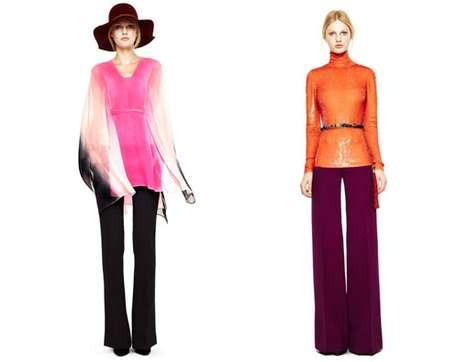 Retro Color Block Fashion