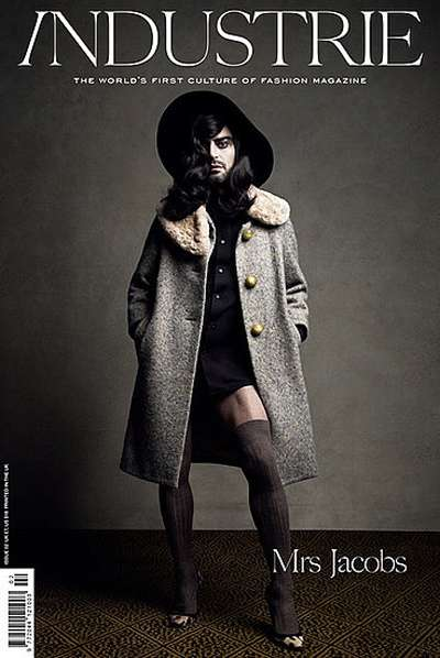 Cross-Dressing Designers - Marc Jacobs Dons Women's Clothes for Industrie Magazine
