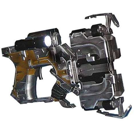 Detailed Gamer Guns