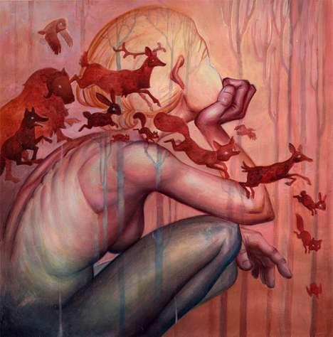 Abstract Fantasy Illustrations