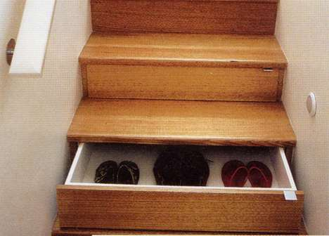 Staircase Storage