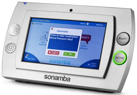 Watchdog Technology - The Sonamba Monitoring System is Designed With the Aging in Mind