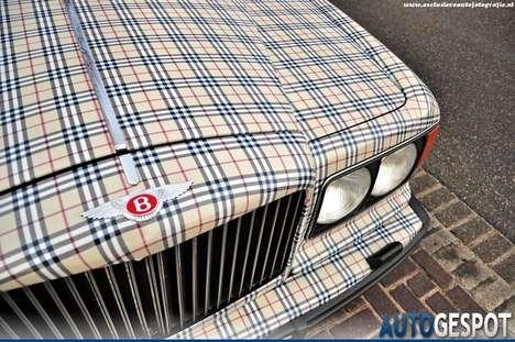 Fashionably Plaid Vehicles
