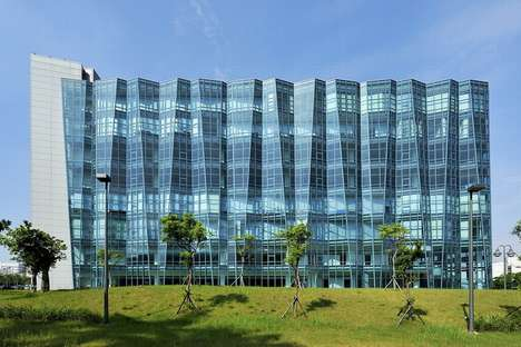 The Neo Solar Power Corporation is Stunning in its Crimped Exterior Design