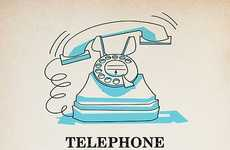 Vintage Music Mashups - Andrew Kolb Makes a Vintage Poster for Lady Gaga's Telephone