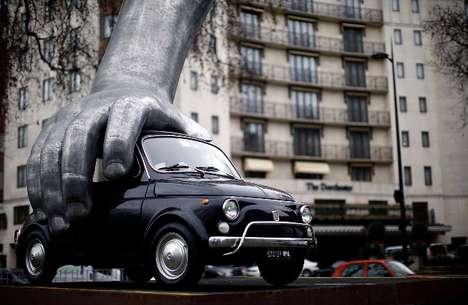 Playful Automotive Artwork