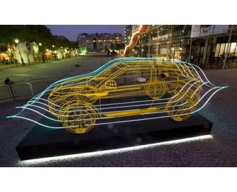 19 Automotive Works of Art