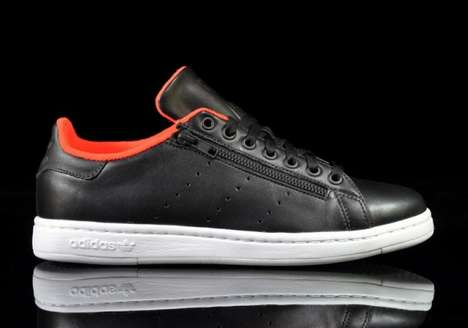 Sleek Leather Kicks