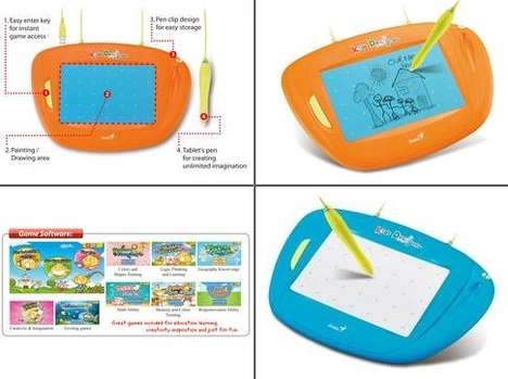 Electronic Children Canvases