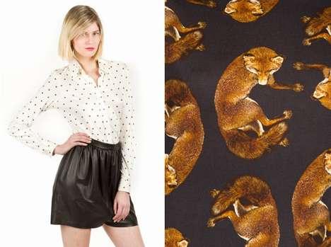 Hot Fox-Print Fashions