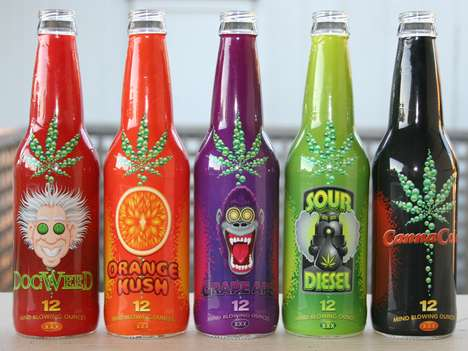 Marijuana Beverages - The New Canna Cola Pot-Laced Sodas Come in Five Mind-Blowing Flavors