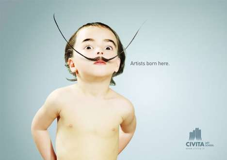 The Adorable and Funny 'Civita Art School' Ad Gives Future Hope