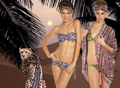 Tropical Tribal Swimwear