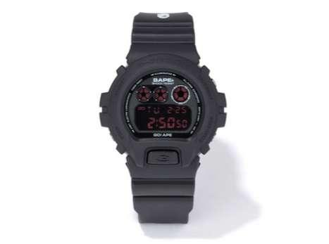 Designer Digital Timepieces