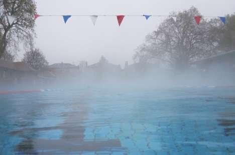 Crematorium Public Pool Pool Heating