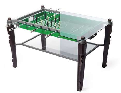 Hybrid Gaming Furniture - The Offside Table Brings Out the Fun in Functional