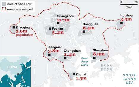 Colossal Chinese Cities