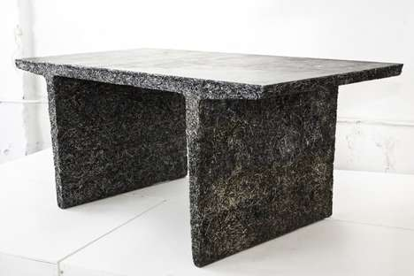 Shredded Magazine Furniture