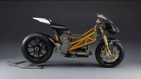 The Mission R Electric Racing Motorcyle is Stripped Down to the Bare Essentials