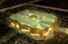 Sustainable Soccer Stadiums (UPDATE) - Qatar's 2022 FIFA World Cup Stadiums are Eco Marvels